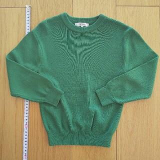 グリーンレーベルリラクシング(green label relaxing)のユナイテッドアローズキッズニットトップス115(ニット)