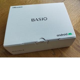 キョウセラ(京セラ)の簡単スマホ BASIO4(スマートフォン本体)