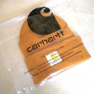 carhartt - 【新品・未使用】CARHARTT(カーハート)ニット帽  【ブラウン】