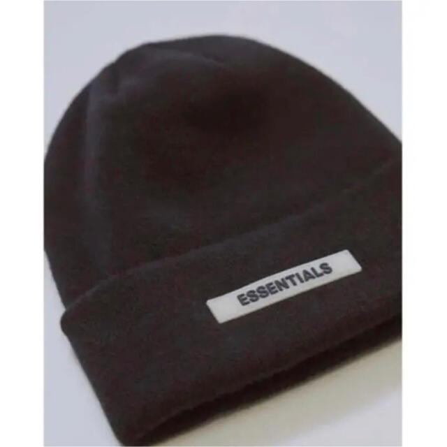 FEAR OF GOD(フィアオブゴッド)のessentials  ビーニー メンズの帽子(ニット帽/ビーニー)の商品写真