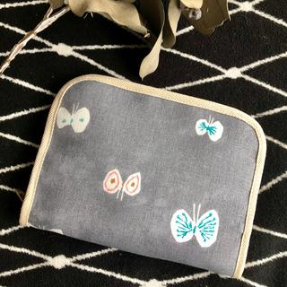 mina perhonen - 【ミナペルホネン hanahane】マルチケース(母子手帳・パスポートの収納に)