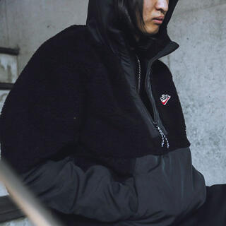 NIKE - NIKE ナイキ ボア ハーフジップ フリースジャケット パーカー
