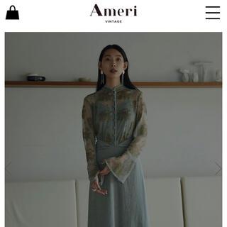 Ameri VINTAGE - Ameri vintage FLOWER LACE DRESS アメリ ドレス