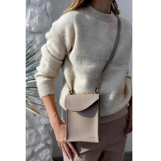 ルームサンマルロクコンテンポラリー(room306 CONTEMPORARY)のLeather Pochette Bag(ショルダーバッグ)
