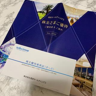 サイタマセイブライオンズ(埼玉西武ライオンズ)の西武ホールディングスの株主優待、乗車券10枚セット(野球)