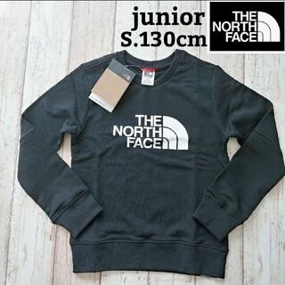 THE NORTH FACE - 【海外限定】TNF ジュニア 黒 ブラック トレーナー 130