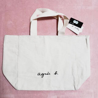 agnes b. - 爆売れ❗️アニエスベー トートバッグ ホワイト 新品未開封