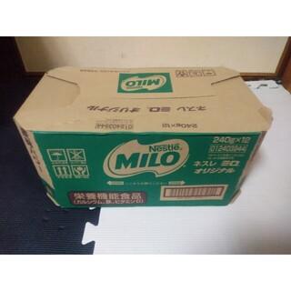 ネスレ(Nestle)のネスレ ミロ オリジナル MILO 240g×12セット(その他)