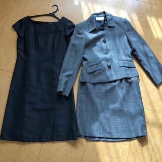 シマムラ(しまむら)のブラックフォーマル スーツ 15号 スリーピース(礼服/喪服)