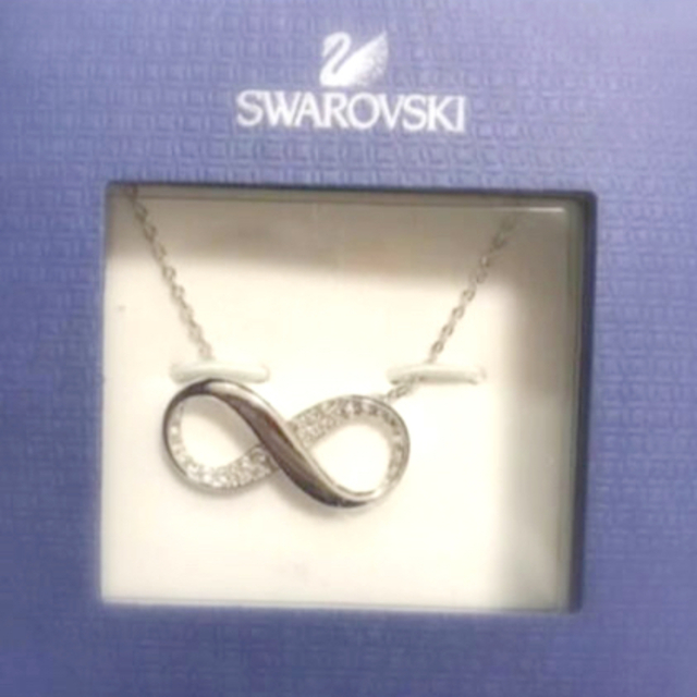 SWAROVSKI(スワロフスキー)のSWAROVSKI スワロフスキー ネックレス インフィニティ レディースのアクセサリー(ネックレス)の商品写真