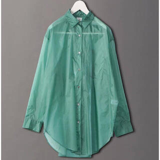 UNITED ARROWS - 6 ROKU ナイロンビッグスケシャツ