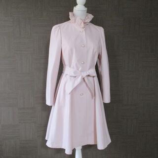 エムズグレイシー(M'S GRACY)の未使用 エムズグレイシー 桜色 スプリングコート 38 日本製(スプリングコート)