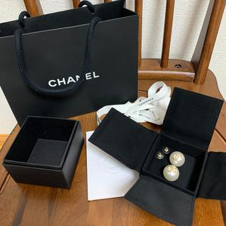 CHANEL - CHANEL シャネル  ピアス パール