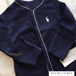 ラルフローレン(Ralph Lauren)の9m75cm ラルフローレン モデル着用 ロンパース(ロンパース)