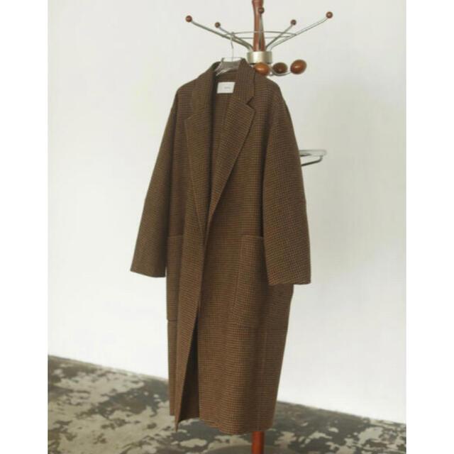TODAYFUL(トゥデイフル)のTODAYFUL Over Check Coat 36 レディースのジャケット/アウター(ロングコート)の商品写真
