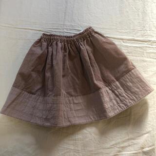 キャラメルベビー&チャイルド(Caramel baby&child )の美品♡ハンドメイド コーデュロイ スカート (スカート)