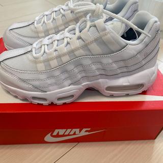 NIKE - <新品未使用>Nike Air Max 95 ホワイト 24cm