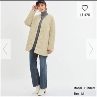 GU - ジーユー  中綿キルティングコート