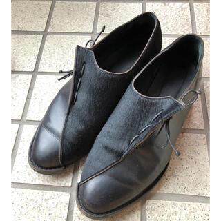 コムデギャルソンオムプリュス(COMME des GARCONS HOMME PLUS)のエレナドベレ 切替 革靴(ドレス/ビジネス)