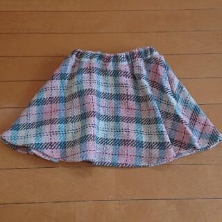 イングファースト(INGNI First)のキッズ☆ツイードスカート☆チェックスカート(スカート)