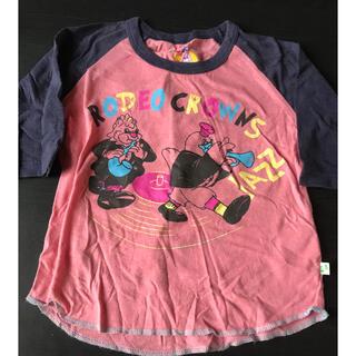 ロデオクラウンズ(RODEO CROWNS)のロデオクラウンズ 5分袖 Tシャツ(Tシャツ/カットソー)