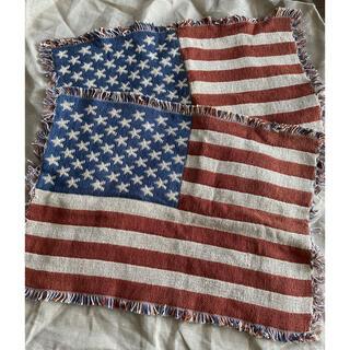 Ron Herman - 星条旗 フリンジ ランチョンマット 2枚セット