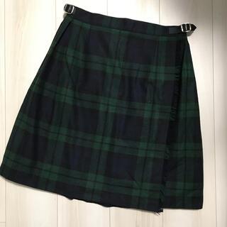オニール(O'NEILL)のオニールオブダブリン チェック柄巻きスカート(ひざ丈スカート)