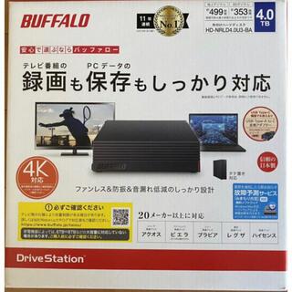 Buffalo - バッファロー 4TB 4.0TB BUFFALO HD-NRLD4.0U3-BA