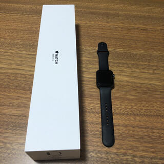 Apple Watch - [美品]Apple Watch Series3 42mm (GPS)