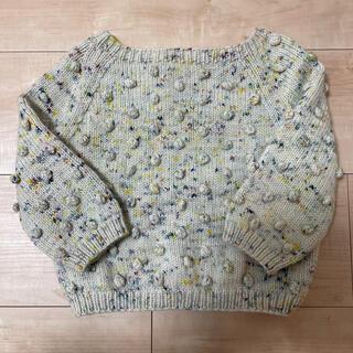 キャラメルベビー&チャイルド(Caramel baby&child )のmisha and puff popcorn sweater 18-24m(ニット)