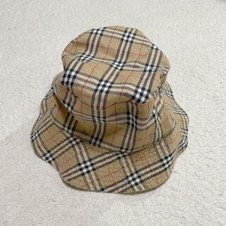 BURBERRY - Burberry 帽子 リバーシブルバケットハット