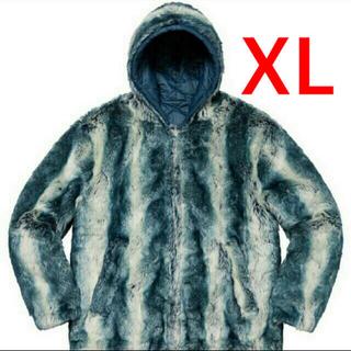 Supreme - Faux Fur Reversible Hooded Jacket