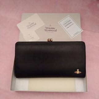 Vivienne Westwood - ヴィヴィアンウエストウッド♥がま口財布♥ブラック