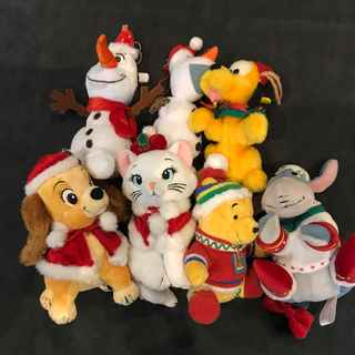 デイジー(Daisy)のディズニーリゾート クリスマス限定ぬいばセット(キャラクターグッズ)