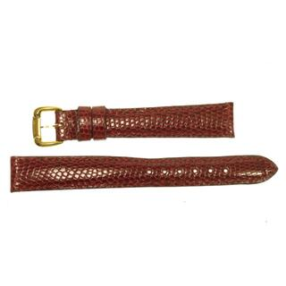 ショーメ(CHAUMET)のショーメ  ラグ幅14ミリ 腕時計用 革ベルト レッド  レディース 【中古】(腕時計)