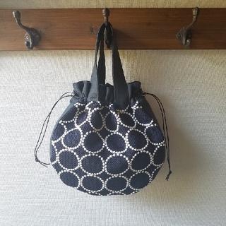 mina perhonen - ミナペルホネン 巾着バッグ