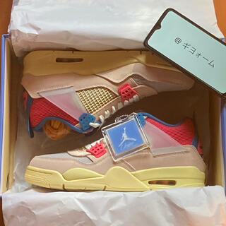 NIKE - UNION AIR JORDAN 4 27.5cm GUAVA ICE