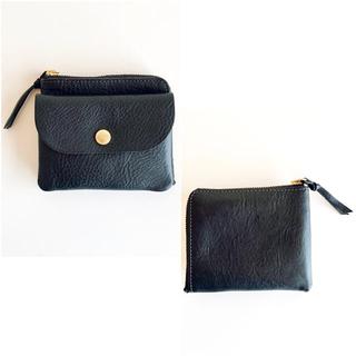 ヤエカ(YAECA)のCINQ (サンク)  小さめの財布 ブラック 箱なし 美品(財布)