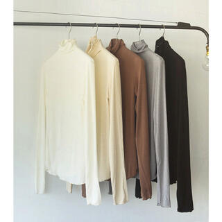 TODAYFUL - 【新品未使用・タグ付き】Soft Turtleneck Tops