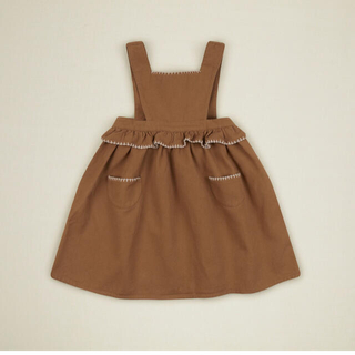 Caramel baby&child  - apolina kids URSINA PINAFORE - SAND