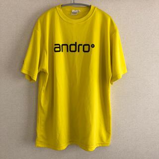 アンドロ 卓球 ゲームシャツ ユニフォーム