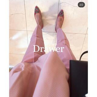 Drawer - drawer ドゥロワー / ウールテーパードパンツ 36