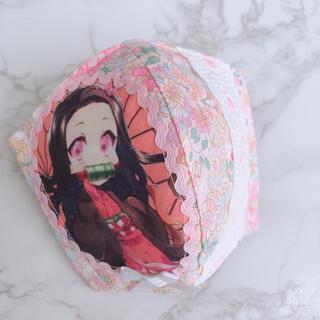 【5】インナーマスク 鬼滅の刃 ねずこ(外出用品)