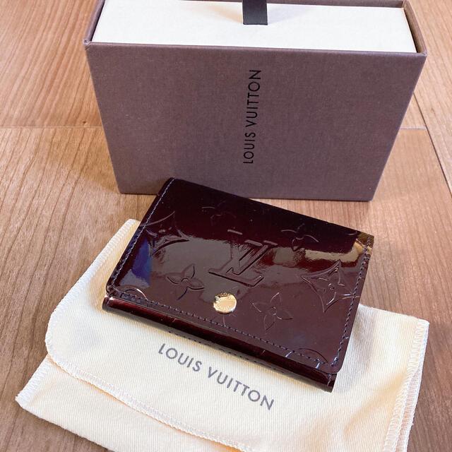 LOUIS VUITTON(ルイヴィトン)のルイヴィトン ヴェルニ カードケース レディースのファッション小物(名刺入れ/定期入れ)の商品写真
