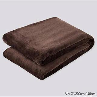UNIQLO - 本日限定定価以下✨新品✨1番人気ブラウン✨ユニクロ ヒートテック 毛布 シングル