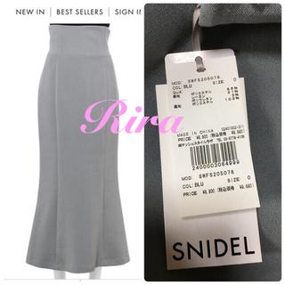 snidel - 完売🌷新作新品🍀スナイデル ハイウエストナロースカート