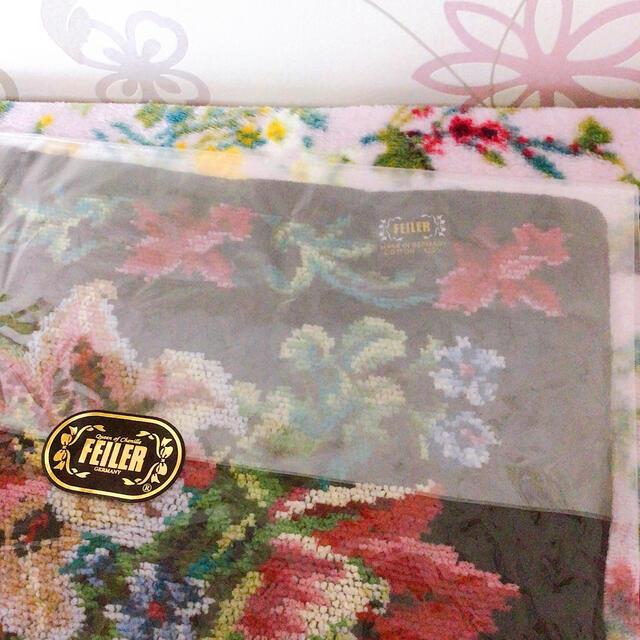 FEILER(フェイラー)の💕フェイラータオルハンカチ❤️ レディースのファッション小物(ハンカチ)の商品写真