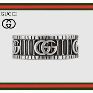 Gucci - 再入荷!【新品】GUCCI ダブルG シルバー リング 22号