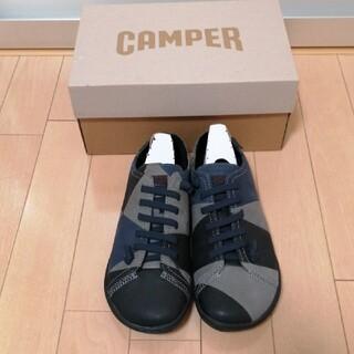 カンペール(CAMPER)の新品 カンペール twins peu 38(ローファー/革靴)
