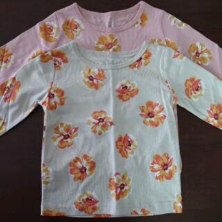 ハッカキッズ(hakka kids)の長袖Tシャツ セット(Tシャツ/カットソー)